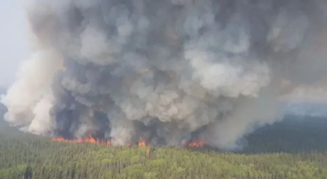 Alberta Fire Still Out-of-Control, Thousands Evacuated