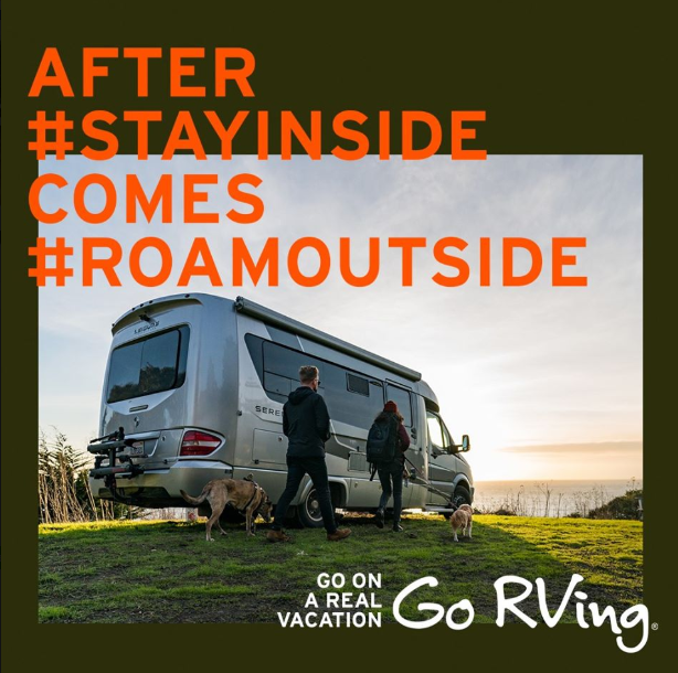 Go RVing Releases Campaign: 'Go on a Real Vacation'